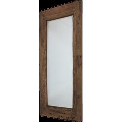 Spiegel Rustiek - 120x80 cm - blank - drijfhout teak
