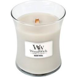 Woodwick Soft Chambray medium candle