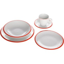 Cosy&Trendy Pleasure Orange dinnerset - 20-delig