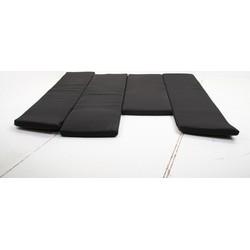 SenS-Line Toronto kussenset voor loungeset - zwart