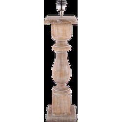 Tafellamp Gardone groot hout naturel