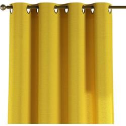 Gordijn met ringen geel