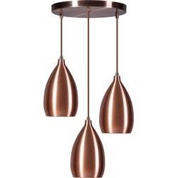 Pendant Lamp Ajaccio 3 C Copper