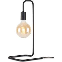 Tafellamp London - Zwart - Metaal - 20x20x45,5cm - It's About RoMi