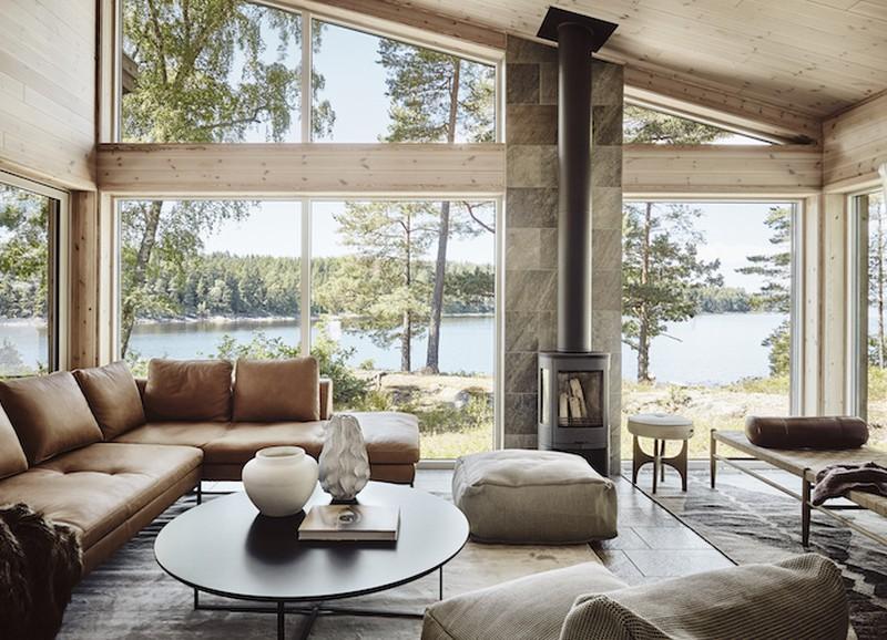 Interior crush: Zweeds huisje bij het meer