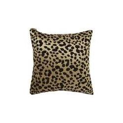 Biba Jacquard leopard black cushion