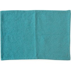 Urban Nature Culture placemat recycled cotton canal blue