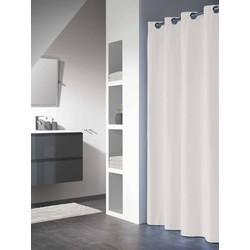 Sealskin Douchegordijn Textiel Coloris 200 x 180cm Wit