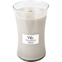 Woodwick Large Candle Warm Wool