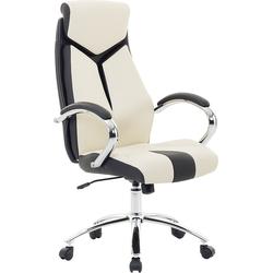 Stoel beige - Burostoel - Bureaustoel - Schrijftafelstoel - Draaistoel - FORMULA 1