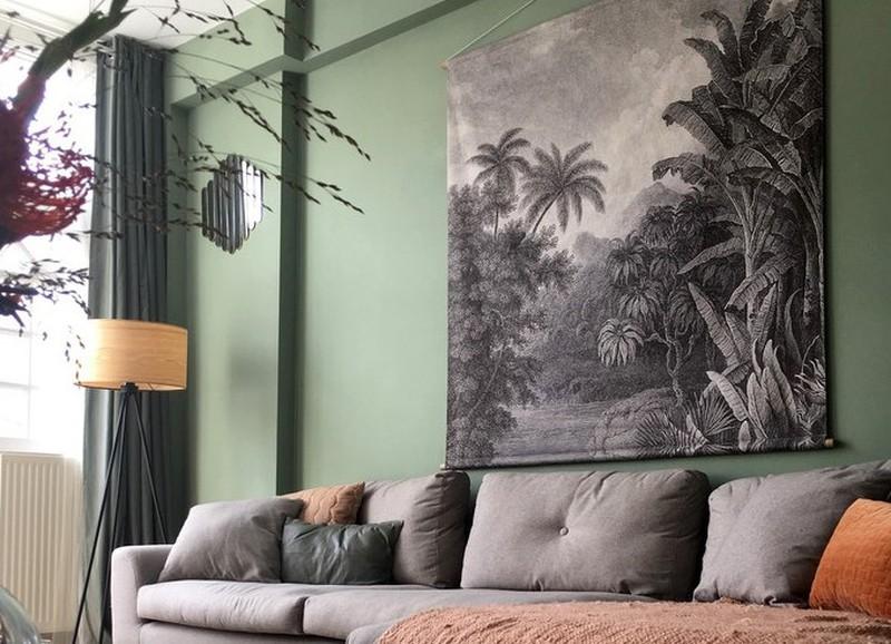 4 redenen waarom je nú je muren groen wilt schilderen