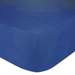 Nightsrest Jersey Hoeslaken - Donkerblauw Maat: 1-Persoons (80/90x200cm)