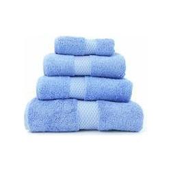 Yves Delorme Etoile cobalt hand towel
