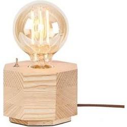 Its About RoMi tafellamp hout hexagon naturel