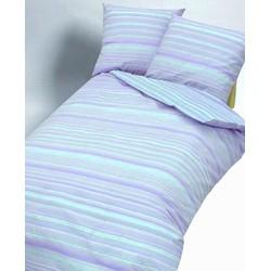 Dekbedovertrek Little Stripe Blue-240 x 200/220 cm