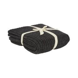 Gray & Willow Bergen knit throw