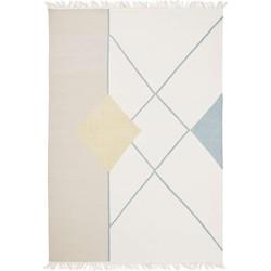 Linie Design Artwork Vitalia Mustard - 200 x 300 cm