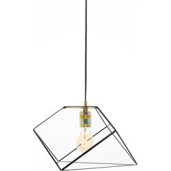 Geometrische lamp Mae van Hart & Ruyt - 20cm - Zwart