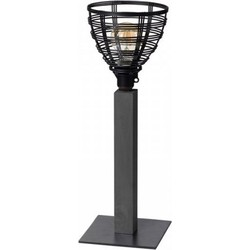 ETH tafellamp Molfetta zwart