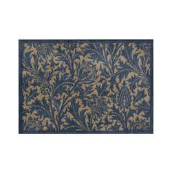 Morris & Co. Thistle Doormat, Blue