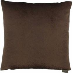 Sierkussen Perla kleur Chocolate - 40x60cm