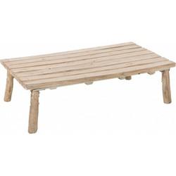 Nature - salontafel - rechthoekig - eik - naturel
