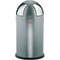 Prullenbak Push Two - Zilver - 50 Liter - Wesco