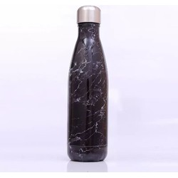 Fine Asianliving Luxe Thermoskan Waterfles Stainless Steel 500ML Black Stone