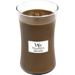 Woodwick Large Candle Amber&Incense