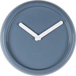 Klok Ceramic Time - Blauw - Zuiver