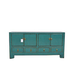Fine Asianliving Fine Asianliving Antieke Chinese TV Meubel Teal  - Tianjin, China