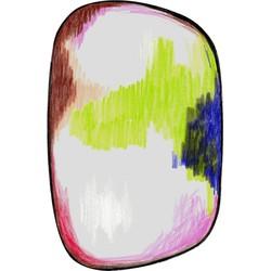 Carpet Moooi Scribble Green/Blue/Pink vloerkleed - 300 x 200 cm