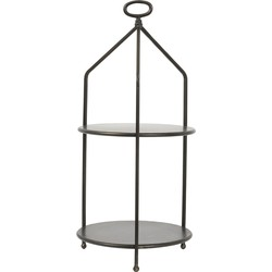 Light&Living Etagere Aurdal Brons 2 Laags 66 x Ø30