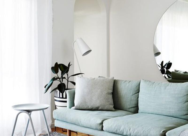 Een interieur met mintgroene accenten alles om van je huis je