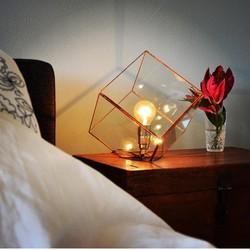 Geometrische lamp Liv van Hart & Ruyt - 20cm - Zwart