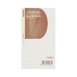 Filofax Personal Inserts, Ruled Paper, Cotton Cream