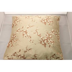Fine Asianliving Chinese Kussen Goud Bloesems 40x40cm