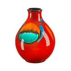 Poole Pottery Volcano Purse Bud Vase, 12.5cm