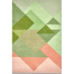 Claire Gaudion Bordeaux Vert - 200 x 300 cm