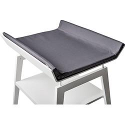 Leander Linea Hoes Aankleedkussen - Dark Grey