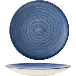 Cosy&Trendy Turbo Blue Dessert Bord - Ø 22 cm - Set-6