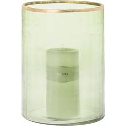 Windlicht Blair groen 26cm