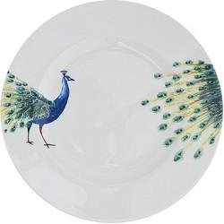 Catchii Peacock Head Dinerbord - Ø 27 cm