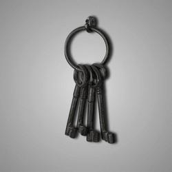 Brynxz 4 sleutels aan ring