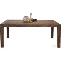 Kare Design - Authentico Eettafel - 200x100x75 - Sheesham Hout