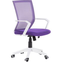 Bureaustoel violet RELIEF