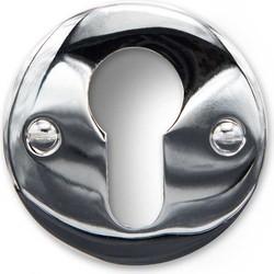 Cilinder Rozet - Rond nikkel