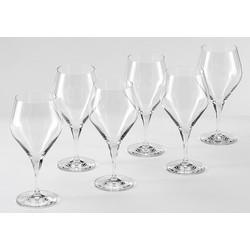Alexander Herrmann Wassergläser, Kristallglas, 6 Stück, 385 ml, Made in Germany, »CLASSIC Linie«