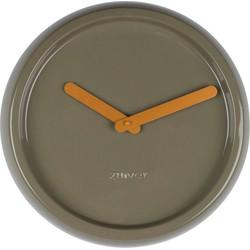 Zuiver Klok Ceramic Time groen Ø35 x 10