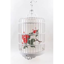 Fine Asianliving Chinese Vogelkooi Hanglamp